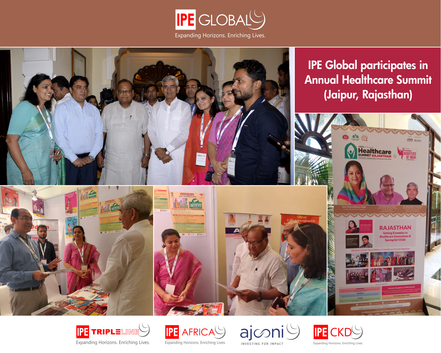 IPE Global participates in Annual Healthcare Summit held in Jaipur