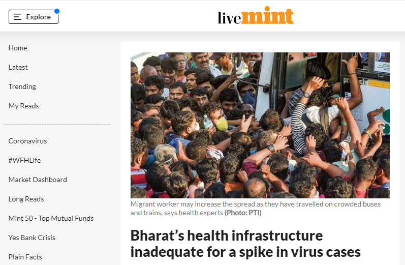 Himanshu Sikka, Chief Strategy & Diversification Officer and Lead - Health, Nutrition & Wash exclusively covered in liveMint