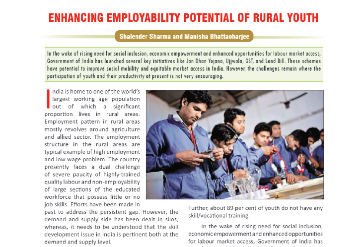 IPE Global features in Yojana Magazine April 2020 Issue