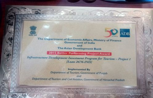 ADB supported Infrastructure Development Investment Program for Tourism (IDIPT) in Himachal Pradesh Wins Award