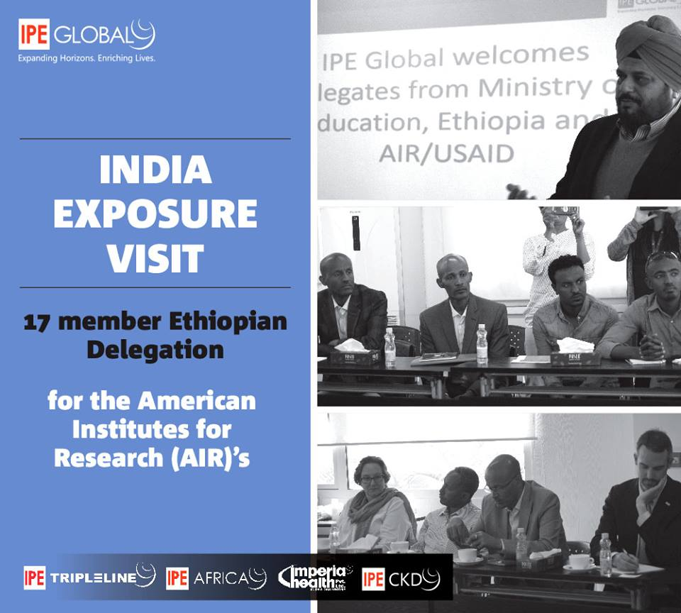 Business Standard features 'Ethiopian delegation's visit to India to adopt best practices from education sector'