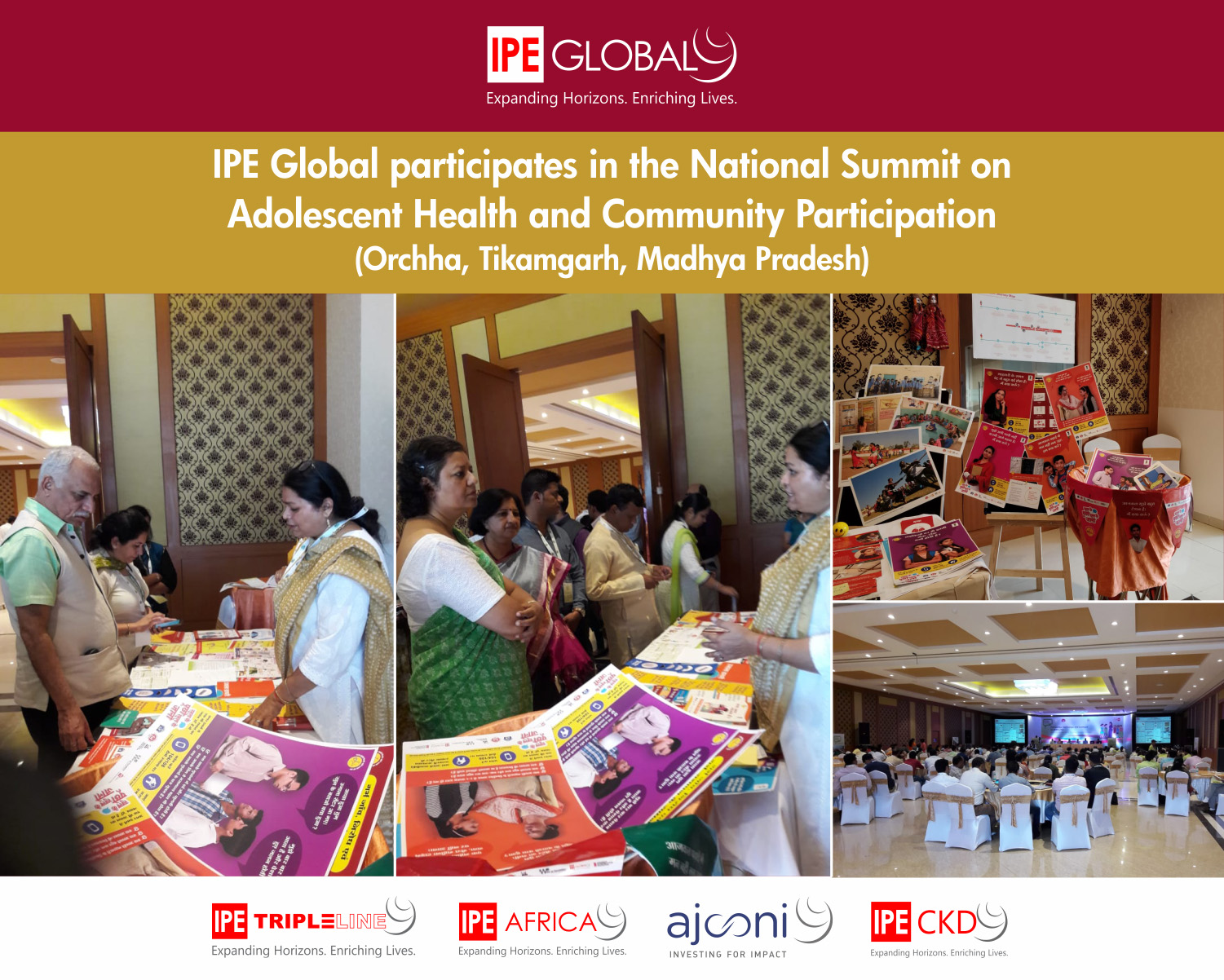 IPE Global participates in the National Summit on Adolescent Health and Community Participation