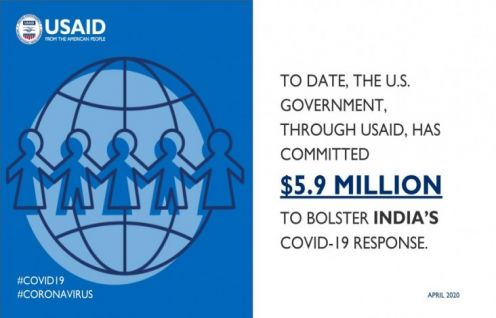 THE UNITED STATES PROVIDES AN ADDITIONAL $3 MILLION TO SUPPORT INDIA'S COVID-19 RESPONSE