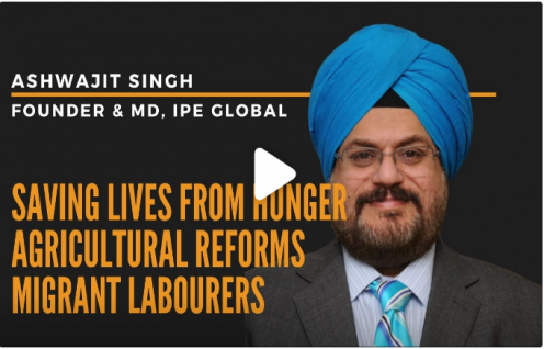Ashwajit Singh, MD IPE Global features in BusinessWorld