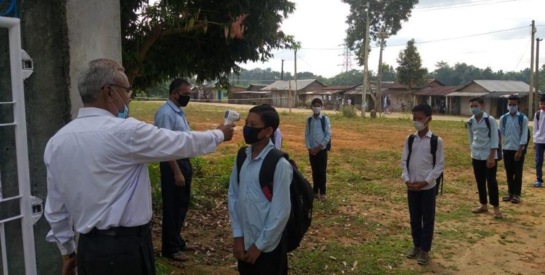 Schools reopen in Assam after seven months but few students turn up