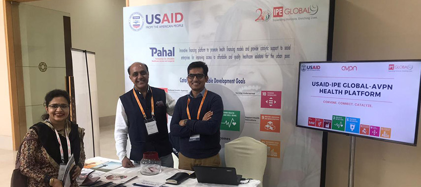 USAID and IPE Global's PAHAL participates in the AVPN India Summit held in Bangalore