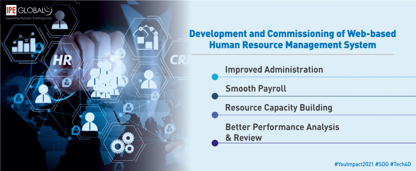 Development and commissioning of web-based human resource management system