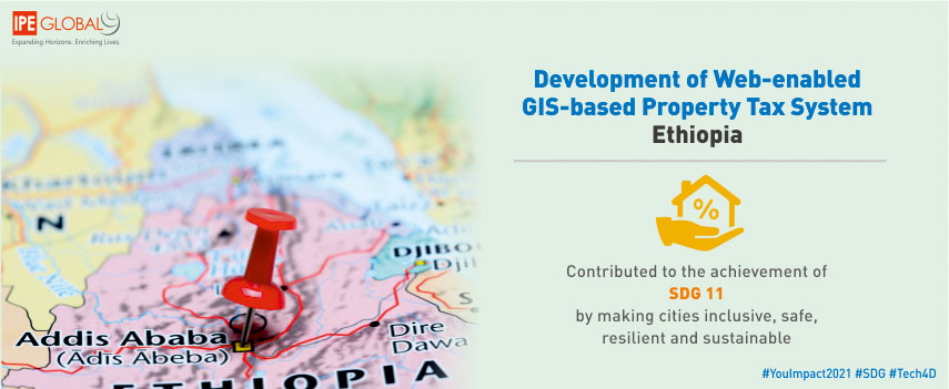 Development of web-enabled GIS-based property tax system