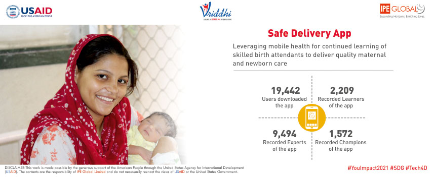 Safe Delivery App: Leveraging mobile health for continued learning of skilled birth attendants
