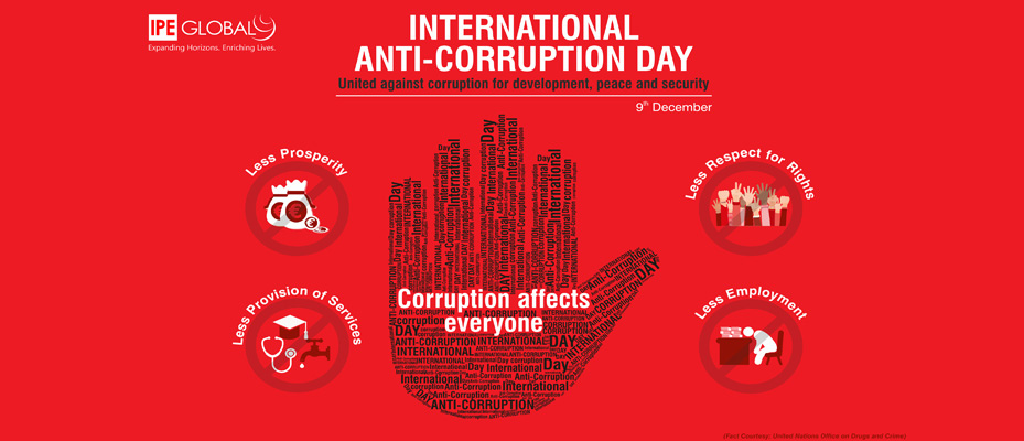 international anti corruption day International anti-corruption day 2017 corruption is considered as a serious crime that can undermine social and economic development in all societies as there is no country, region or community is immune to this crime.